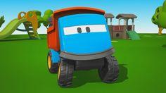 Cartoni Animati per bambini: Leo il Camion Curioso gioca con i grandi ca...