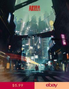 047 Akira - Red Fighting Hot Japan Anime 14x16 Poster Manga Art, Manga Anime, Anime Art, Animes Manga, Future Artist, Katsuhiro Otomo, Akira Poster, Neo Tokyo, Film Poster