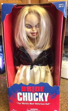 Chucky Tiffany Doll Vintage Universal Sideshow Horror Toy *RARE*