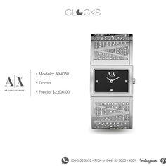 Reloj #ArmaniExchange para dama a un increíble precio #Shine #Fashion #Clocks http://instagram.com/clocksrelojes https://www.facebook.com/clocksrelojes https://twitter.com/ClocksRelojes