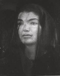 Widow Jackie Kennedy....Nov. 26, 1963