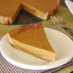 Low-Carb Paleo Pumpkin Pie