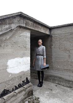 concrete & fashion ♥   Concrete Genezis by IVANKA from Architizer http://www.architizer.com/en_us/blog/dyn/54785/concrete-genezis-fill-your-closet-with-brutalist-fashions/#.UM2_8299Kf4