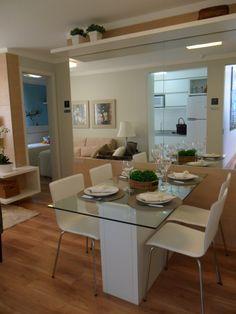 Sala de Jantar empreendimento Agora Canoas #RS / Agora Canoas Dining Room