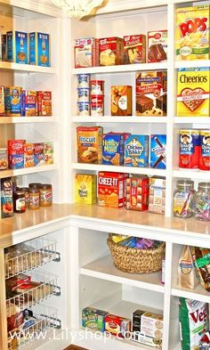 4 rules to a perfectly organized pantry