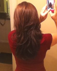 Long hair/short layers