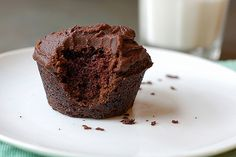 Easy, moist (vegan) chocolate cupcakes