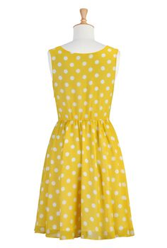 Customizable.  I like the idea of florals and polka dots, all in yellow.