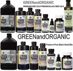 Other Natural Remedies: Amazing Herbs 100% Pure Organic Black Seed Oil Cold Pressed Cumin Nigella Sativa BUY IT NOW ONLY: $49.98 Nigella Sativa Oil, Organic Black Seed Oil, Natural Oils, 100 Pure, Healthy Recipes, Healthy Foods, Natural Remedies, Seeds, Cold