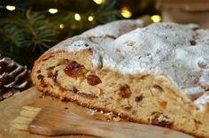 strucla drożdżowa z serem Stollen, Christmas Baking, Christmas Traditions, Banana Bread, Brunch, Food And Drink, Cookies, Polish, Crochet