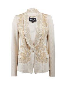 JUST CAVALLI Rhinestone Jacket. #justcavalli #cloth #jacket