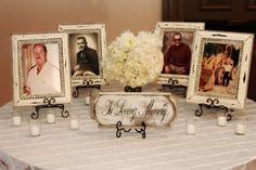 Honor the people who have passed at wedding