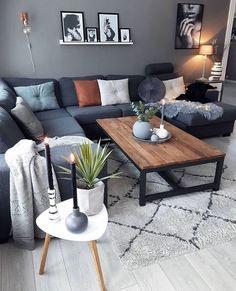 Home living room, living room designs, cozy living rooms, living ro Simple Living Room Decor, Living Room Grey, Home Living Room, Interior Design Living Room, Living Room Designs, Cozy Living, Living Room Inspiration, Home Decor Inspiration, Room Colors