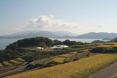 """Osaka-born architect Tadao Ando's Benesse House Park on Naoshima is a museum-cum-hotel. It is home to Teresita Fernandez's """"Blind Blue Landscape"""" as well as various Hiroshi Sugimoto works."""