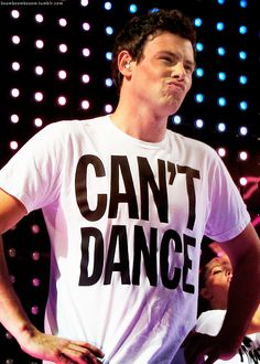 Cory Monteith wearing a cool tshirt.  So, I only ever watched the first 2 seasons of Glee and I will say it was just for this guy. Then I loved him in Monte Carlo...  Such a sad loss for the entertainment industry. This guy had so much potential and was far too young to pass away. Just goes to show that everyone has demons and not everyone is invincible. RIP.