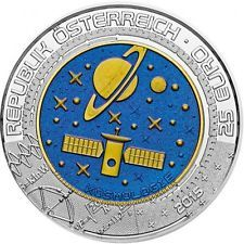 AUSTRIA 25 euros NIOBIO 2015 COSMOS - COSMOLOGY - KOSMOLOGIE NIOB 2.0