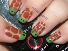 I'm not a nails person but if I were to ever do my nails, THIS IS WHAT I WOULD DO!