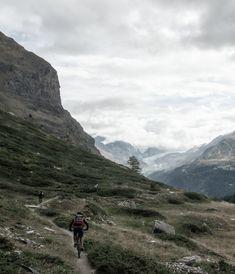 Biking in Zermatt – Switzerland – Girl From The North Country Zermatt, Mountain Biking, Switzerland Summer, North Country, Bike Trails, Mountains, Travel, Voyage, Trips