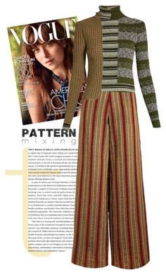 """Pattern"" by patricia-dimmick ❤ liked on Polyvore featuring The Bee's Sneeze, Maison Margiela and patternmixing"