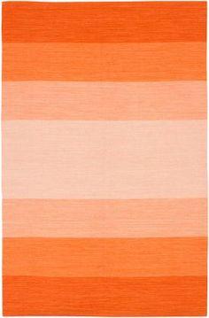 Orange rug from rugsusa.com