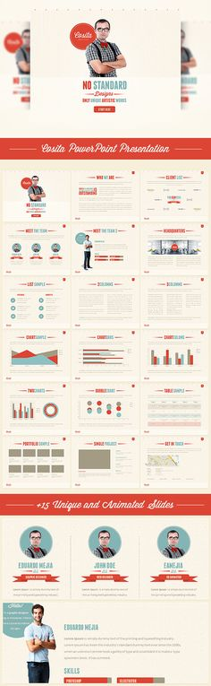 Cosita PowerPoint Presentation  #nerd #template #information • Click here to download ! http://graphicriver.net/item/cosita-powerpoint-presentation/4085289?s_rank=205&ref=pxcr