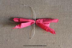 tutorial diy piegare tovagliolo a forma di farfalla facile estate me creativeinside_06