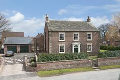 5 bedroom detached house for sale in Church Street, Kirk Hammerton, York - Rightmove. Georgian Style Homes, Georgian Mansion, Small Country Homes, Country Houses, English Cottage Interiors, English Farmhouse, Georgian Architecture, English House, Dream House Exterior