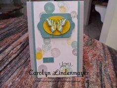 Carolyn's Card Creations: Moonlight Papillon Card