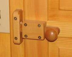 Whats the best way to secure drawers and doors so they don't fly open while underway? - Boat Design Forums