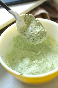Cilantro Pesto & Cilantro Yogurt Sauce | life as a strawberry