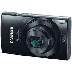 Canon 1084C001 20.0-Megapixel PowerShot ELPH 190 IS Camera (Black)