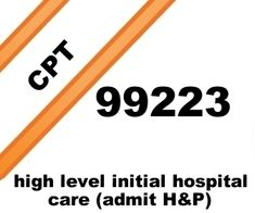 High level initial hospital care free E/M CPT® coding lecture.