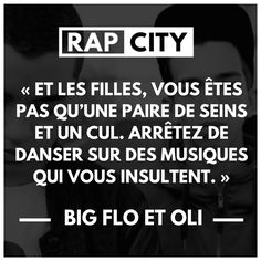 Citation de Bigflo! -La Vraie Vie-