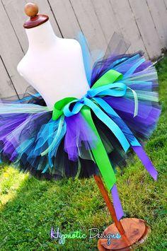 peacock tutu on etsy