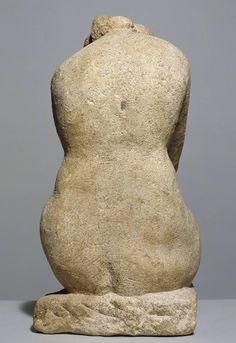 Sepulchral Figure by Henri Gaudier-Brzeska