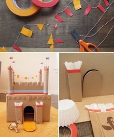 Absolutely have to make this castle craft! Spring Break Staycation Crafts - mom.me
