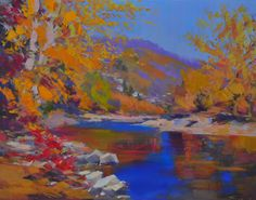 Landscape Print from Landscape Painting by Yuri Pysar by Pysar