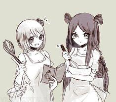 Yukino and Minerva.