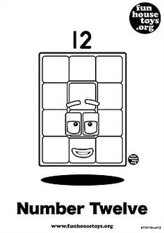 Have some fun with our collection of numberblocks printables. Find Printable Coloring Pages from Numberblocks here. Free Printable Coloring Pages, Free Coloring Pages, Paint Colors For Home, House Colors, Coloring Sheets For Kids, Kids Colouring, Have Some Fun, Cute Stickers, Home Goods