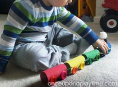 Paper Roll Choo-Choo Train | Once Upon A Playtime