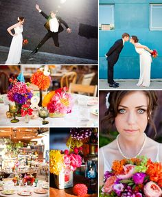 colorful wedding #Wedding #Colorful
