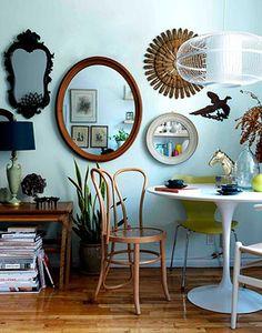 EN MI ESPACIO VITAL: Vintage mirrors
