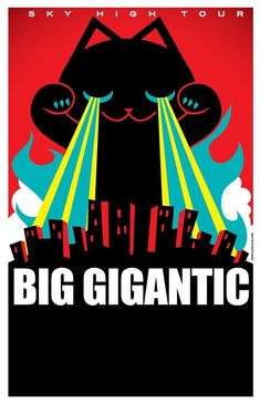 Big Gigantic back on Sky High Tour this fall #electronica #jam #art #cat