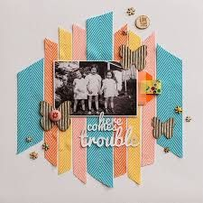 Image result for scrapbook page layout construction