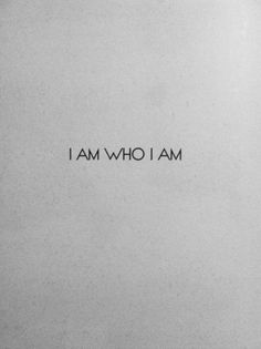 I am who I am   hannan saleh