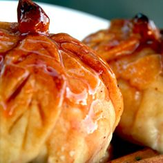 Baked Apple Pie Dumplings, aren't these gorgeous? They would be fantastic for a Christmas brunch and so much more, via The Fresh Fridge