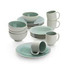 Jars Tourron Elise 16-Piece Place Setting - Crate & Barrel :: $410