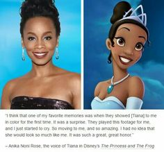 -Anna Noni Rose: The voice of Tiana in Disney's The Princess and the Frog