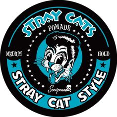 SOURPUSS+STRAY+CATS+CAT+STYLE+POMADE+MEDIUM+-+You'll+have+instant+Stray+Cat+class+and+style+with+this+medium+hold+pomade!+This+pomade+has+some+shine+with+a+medium+hold,+making+it+a+great+everyday+go-to+for+your+hairstylin'+needs.