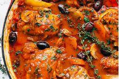 Pollo a la cacciatore: una receta muy apreciada en Italia